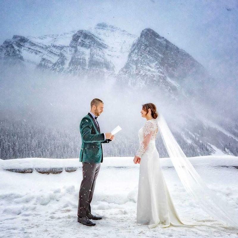 winter wedding suit