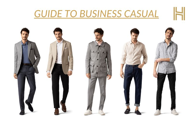 All-in Guide: Business Casual for Men