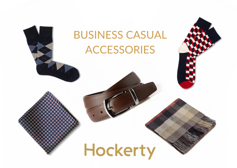 business casual accessories for men