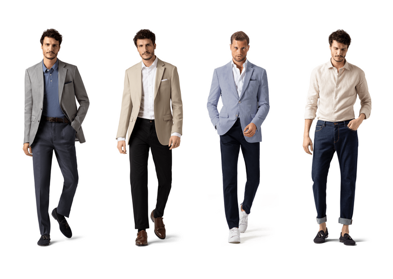 business casual for men