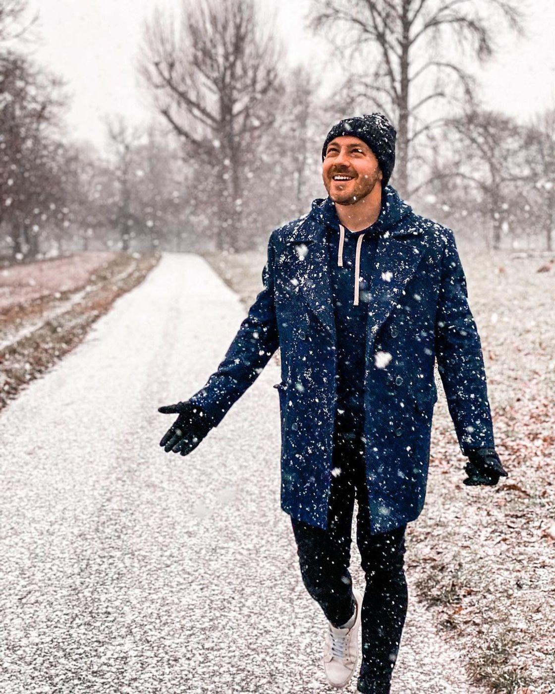 winter overcoat