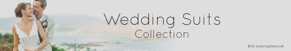 Eine neue Hochzeitsanzüge-Kollektion