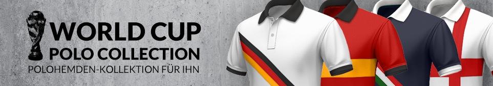 2014 FIFA WM, Polo-Kollektion für Ihn