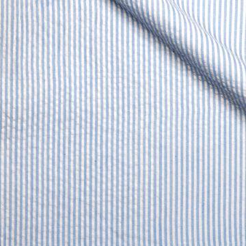 Traje azul cruzado a rayas 189€ - Justell  56cea16ec3d