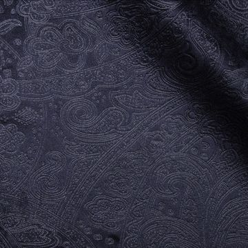 Navy Paisley - product_fabric