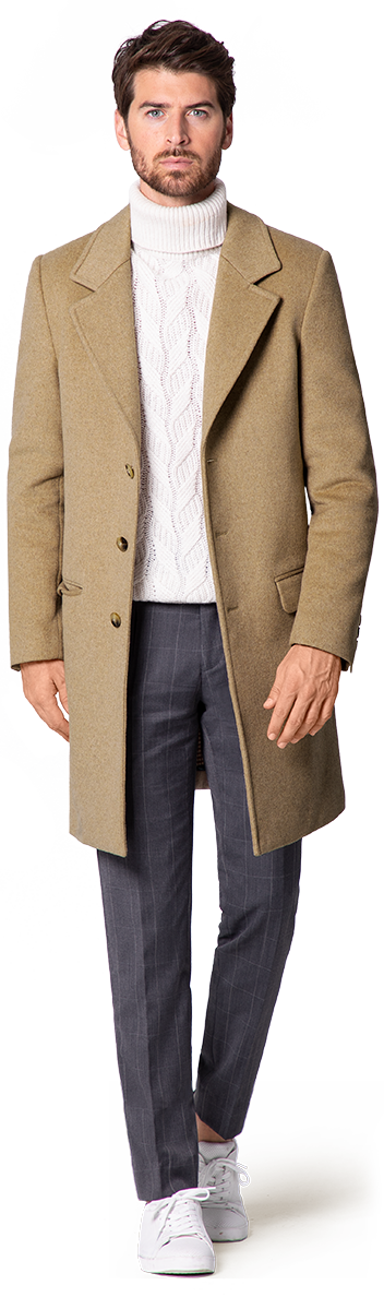 Small overcoats for men