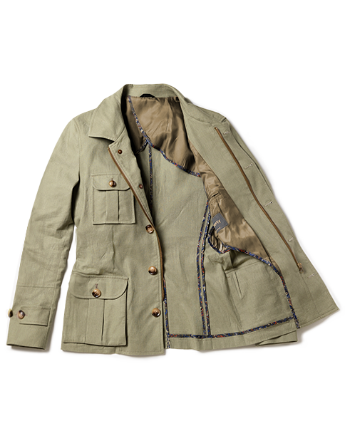 safari jacket men