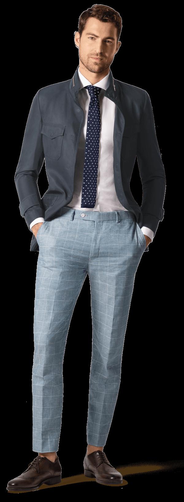 pantalones lino