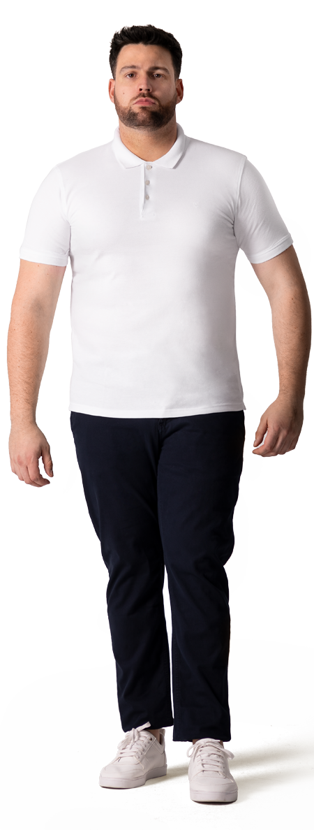 big and tall polo shirt