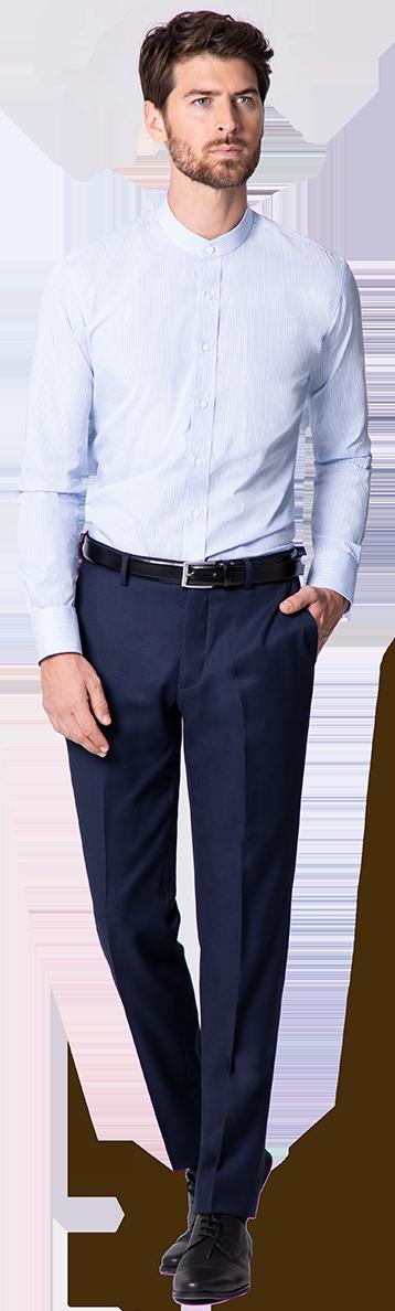 chemise col officier