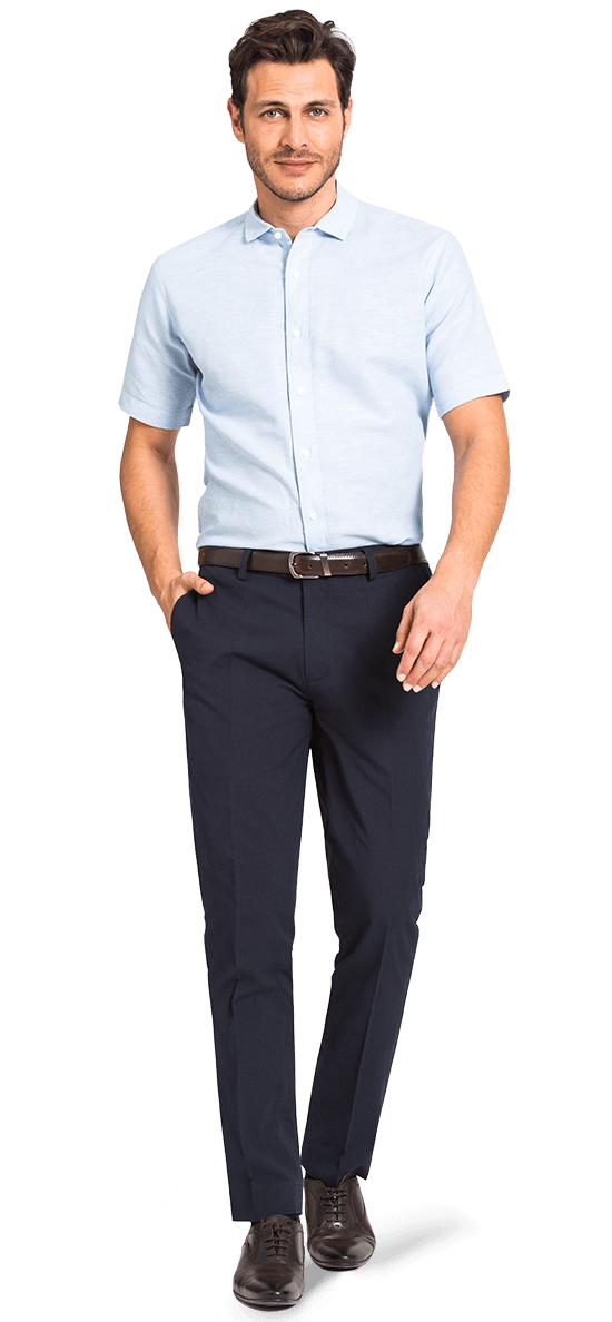 Short sleeved dress shirt
