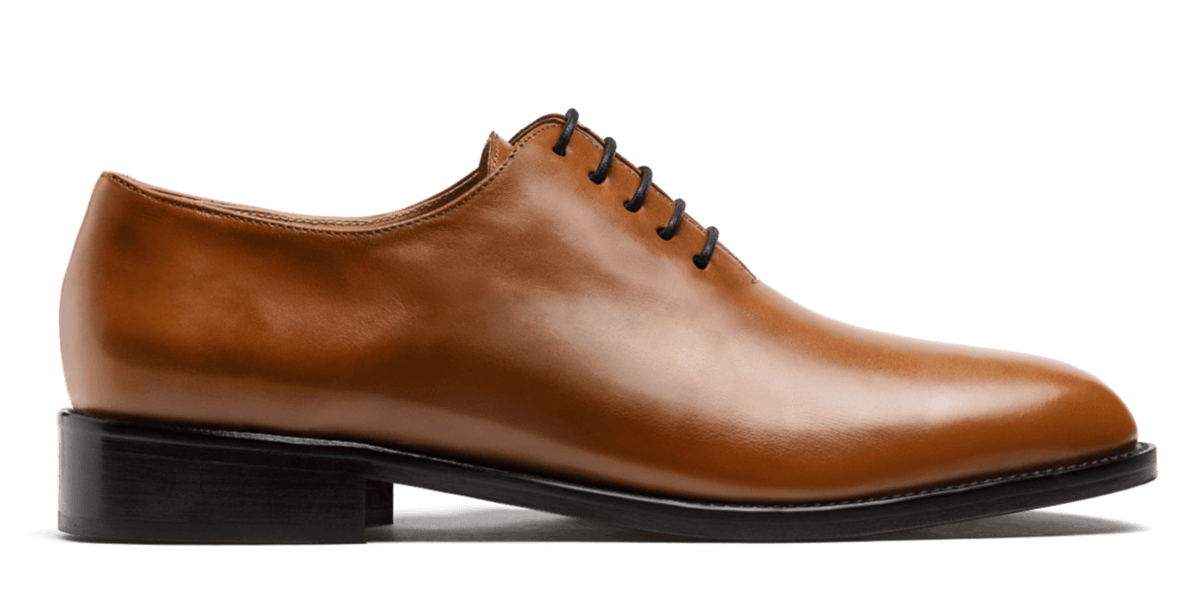 Wholecut oxford shoes
