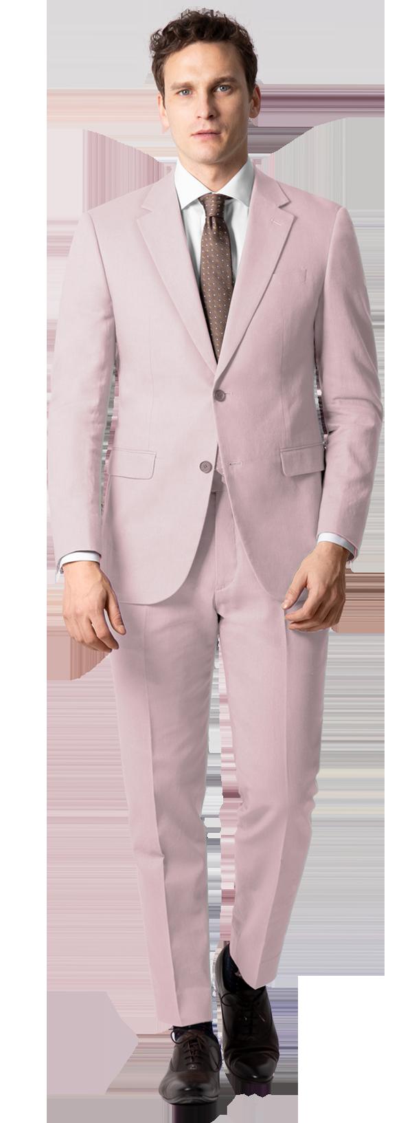 rosa anzug