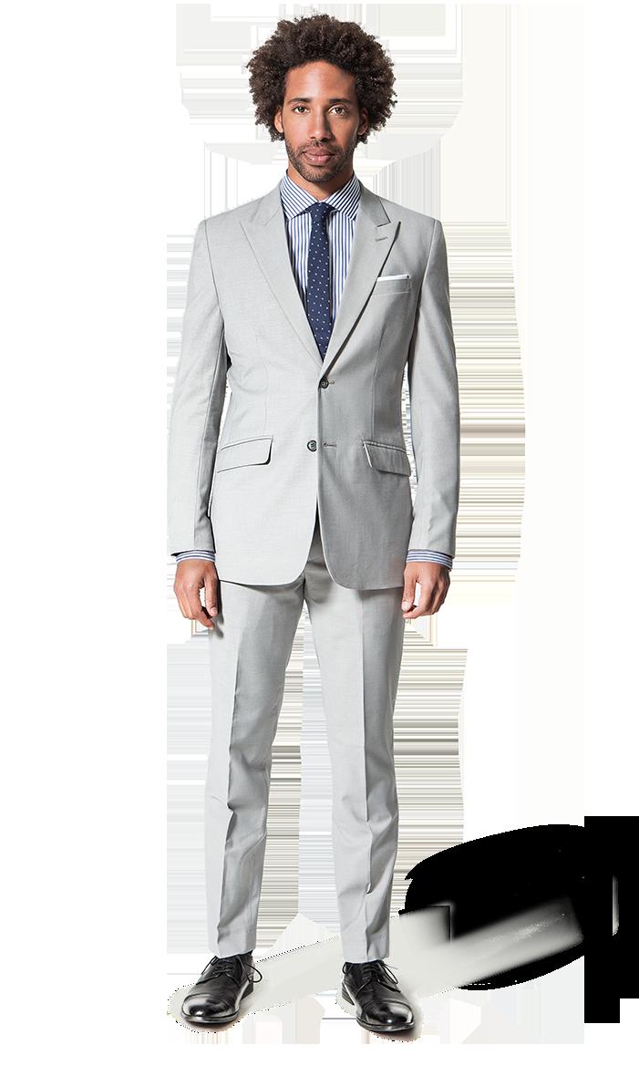men cotton white suit