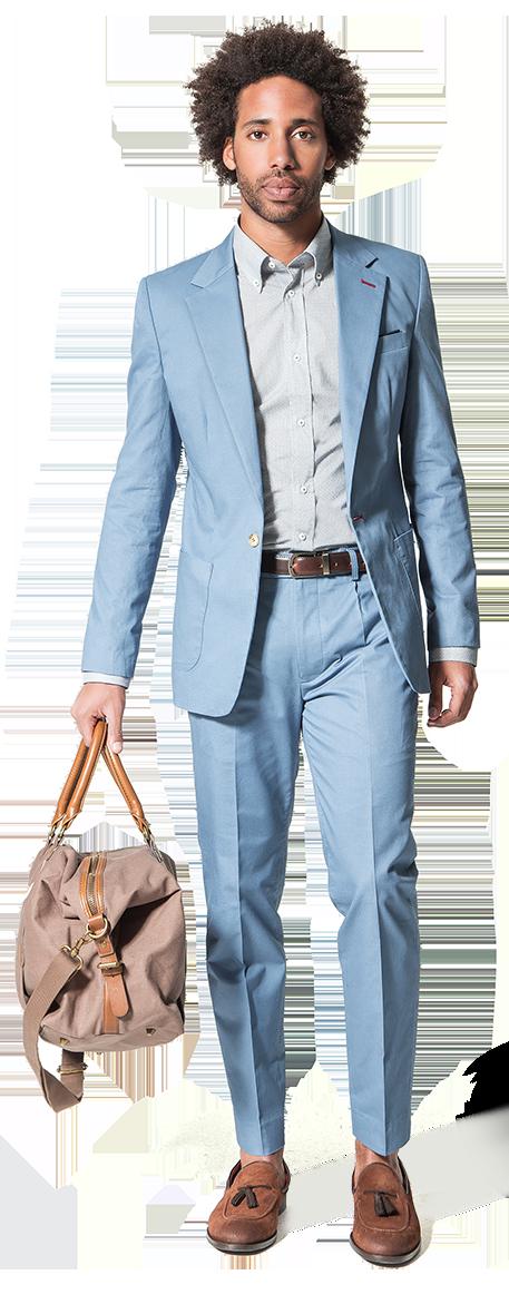 traje de algodón