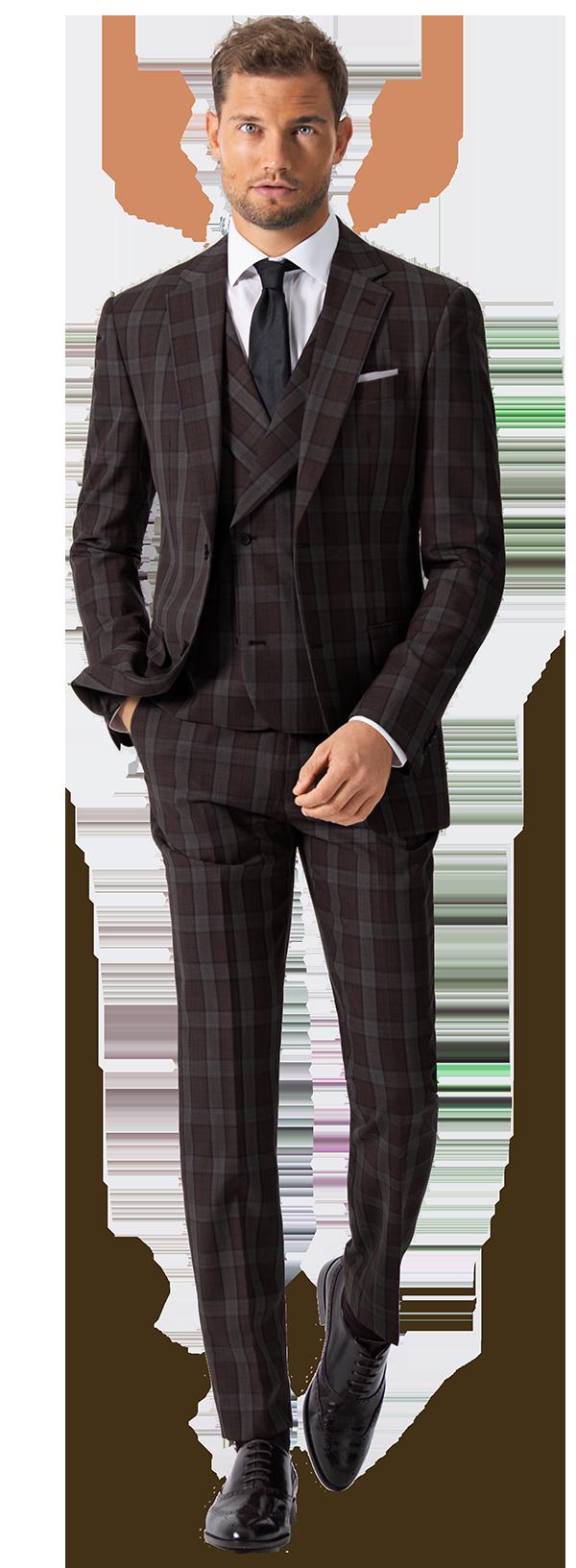 3-teiliger Anzug