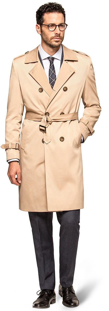 Trench coat homme