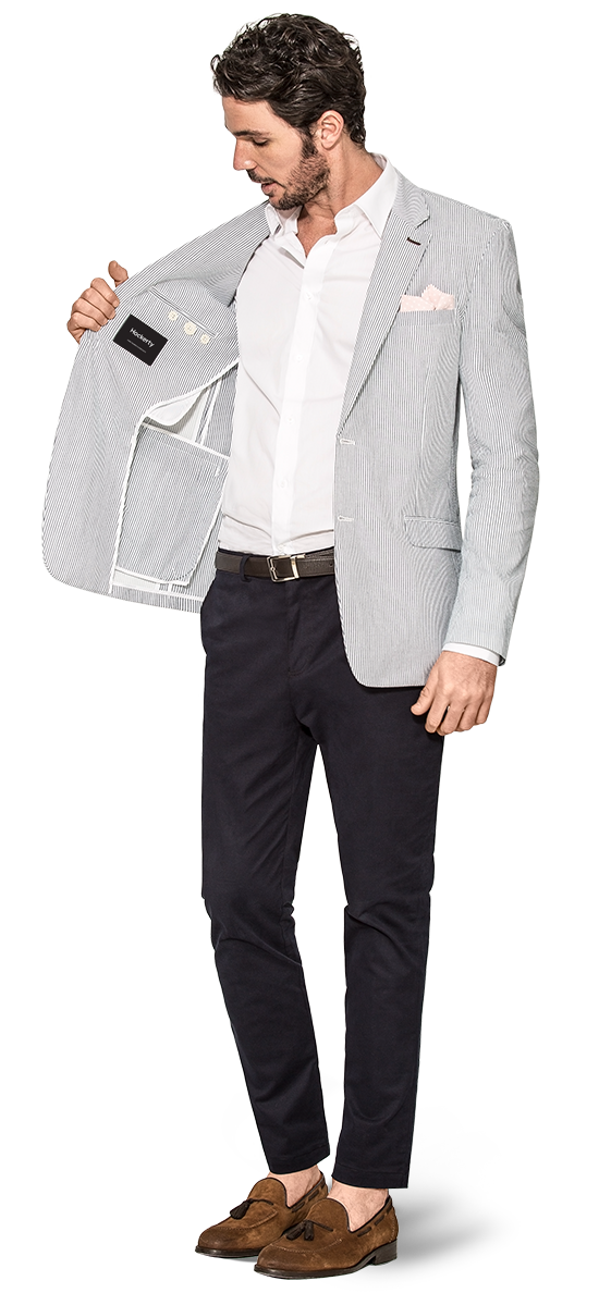 Custom Unstructured blazers