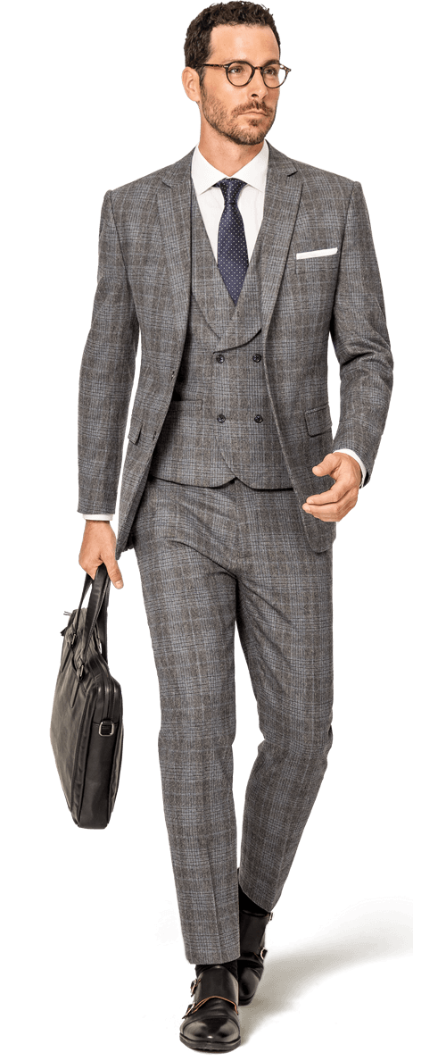 Custom Tweed Suits