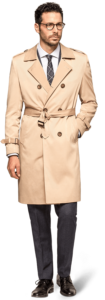 Trench coat sur mesure