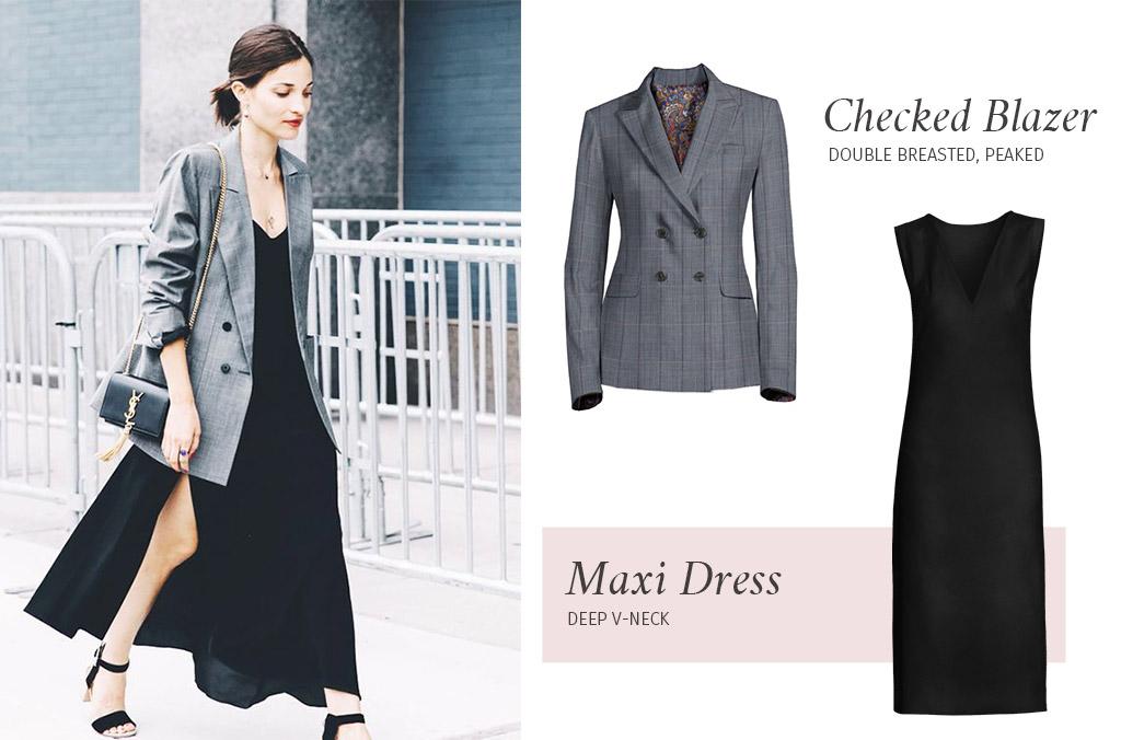 7 Abbinamenti Blazer + Vestito a cui ispirarsi Sumissura